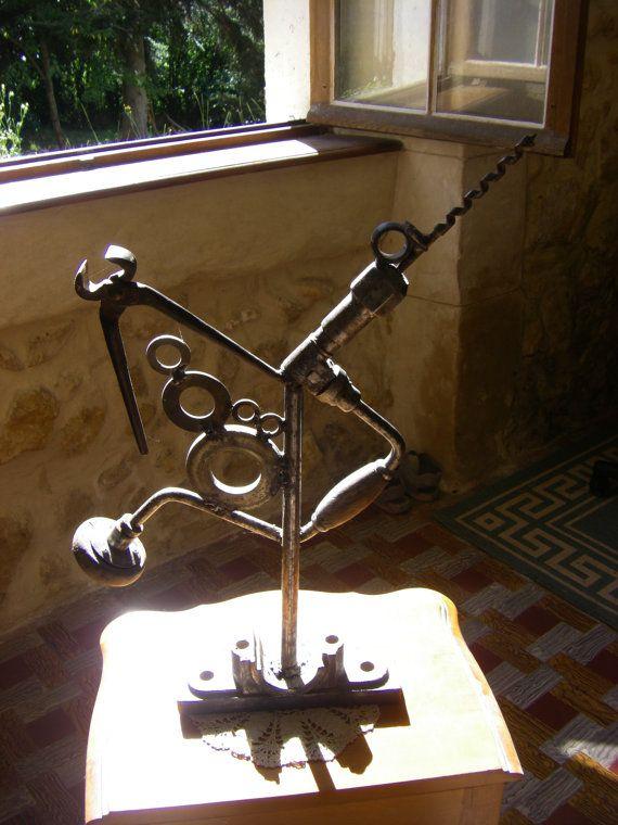 envol du phénix sculpture métal