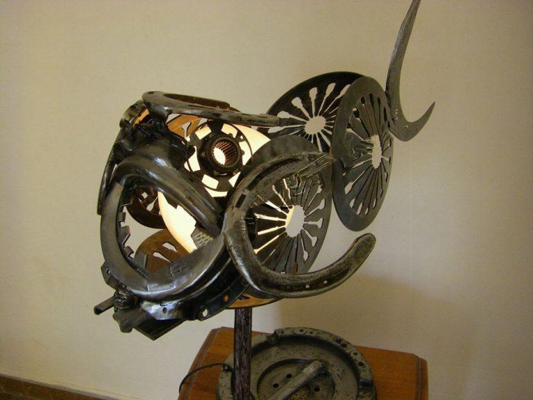 rascasse sculpture récupération