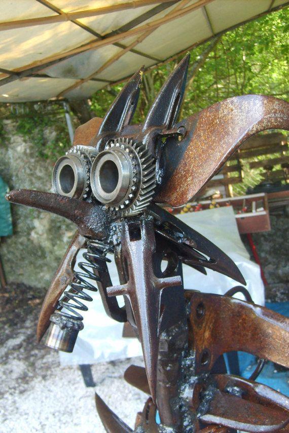 zébulos sculpture sur fer