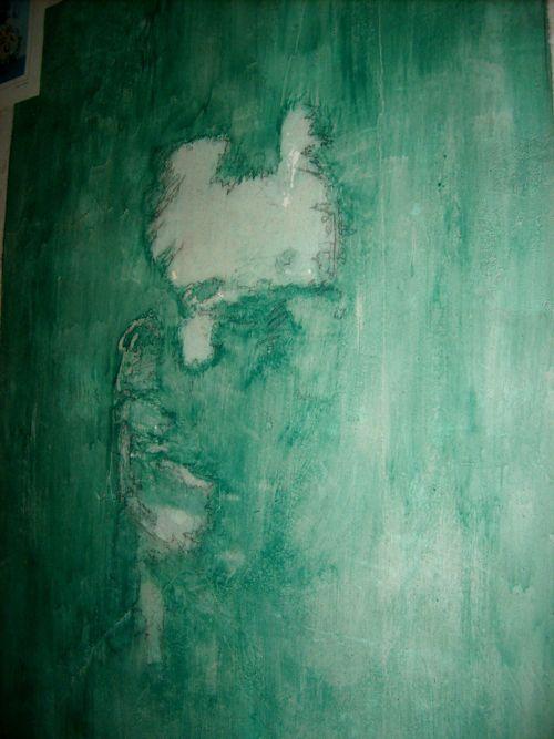 Fresque murale d'un chanteur