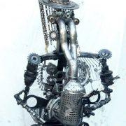 el pistouflero sculpture sur fer