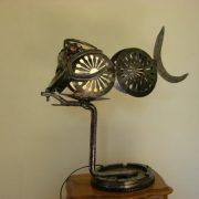 rascasse sculpture métallique