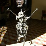 voodoo child sculpture art récupération