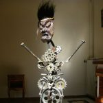 voodoo child sculpture métal