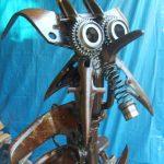 zébulos sculpture métal