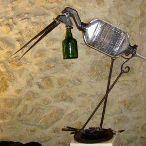 marabout rassasié sculpture récupération